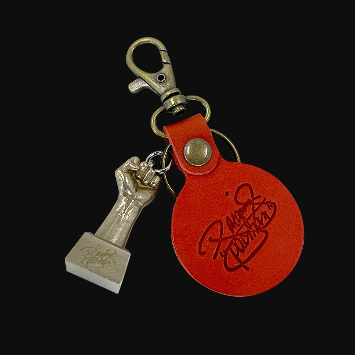 世界的ボクシングスター マニー 価格交渉OK送料無料 パッキャオ氏本人の拳を型取りし製作したキーホルダー パッキャオ ボクシング グッズ 開店記念セール キーホルダー 手形 fist ブロンズ製 男性 ring key かっこいい Pacquiao's
