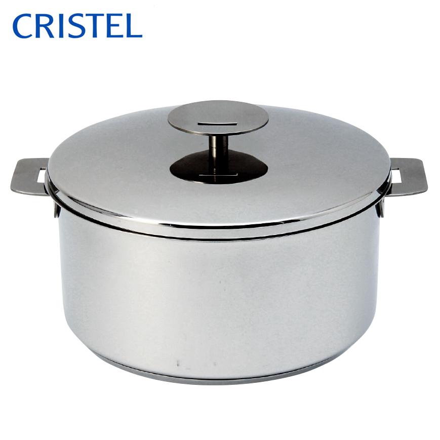 CRISTEL クリステル グラフィットシリーズ 両手鍋深型 24cm