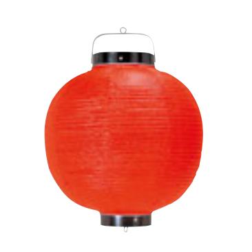 ビニール製 ちょうちん 丸型 赤 15号 [提灯]   【プレゼントキャンペーン対象外】