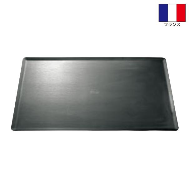 フランス製 ガストロノームサイズ 黒鉄 ブルーテンパー ベーキングトレー 2/1サイズ(650×530) [オーブン天板]