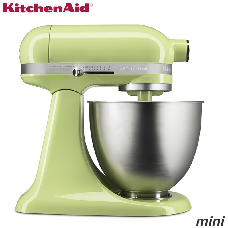 KitchenAid キッチンエイド ミニ スタンドミキサー 3.3L 9KSM3311XHW 【メロン】(グリーン)