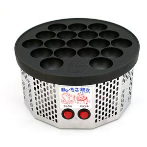 電気式半自動 たこ焼き器 「踊るたこ焼き」 おどる蛸焼★