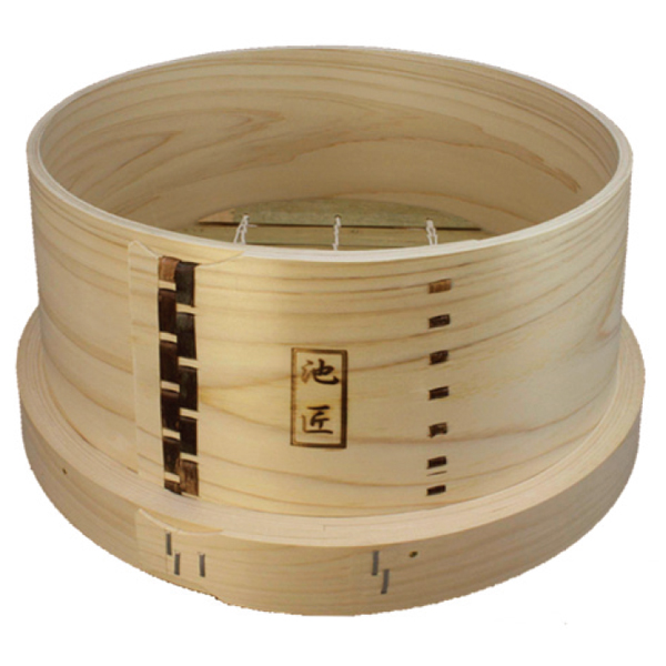 6d715210a Japanese Bamboo steamer without lid-Ikesho original Φ30cm (Bottom Φ33cm) ...
