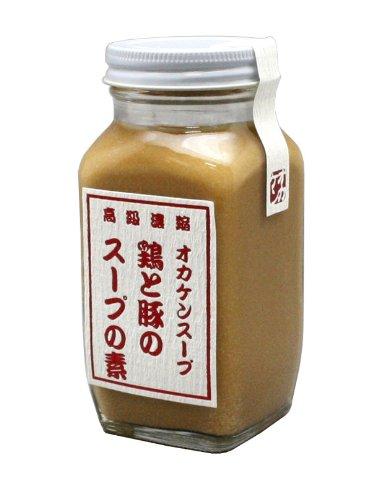 予約販売 家事ヤロウで紹介 とりとぶたのスープの素 鶏と豚のスープの素 300g 和 洋 中 ポーク オカケン スープペースト 日本製 チキン 予約 高級濃縮