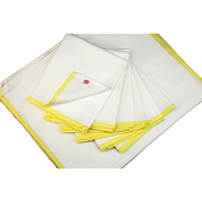 50年のロングセラー 台布巾の定番 日東紡ふきん セール品 衛生的に使うには一家に12枚は必要です 黄 日東紡の新しいふきん12枚入 日本製 業界No.1