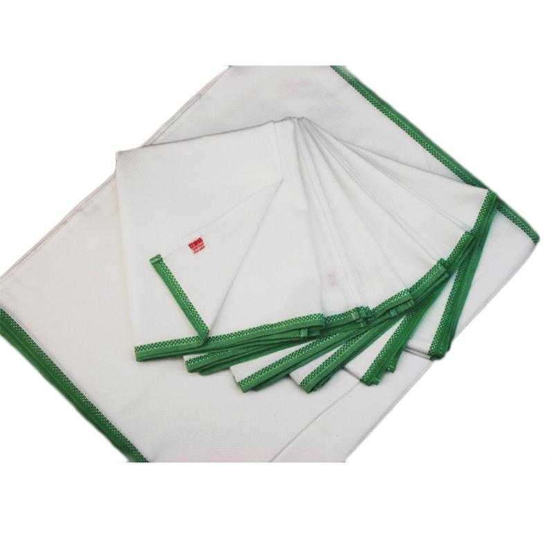 50年のロングセラー 台布巾の定番 日東紡ふきん 衛生的に使うには一家に12枚は必要です 日本製 緑 [再販ご予約限定送料無料] 日東紡の新しいふきん12枚入 激安セール
