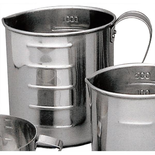 在日本 18-8 不锈钢量杯 (前后) 1 L 1000 毫升