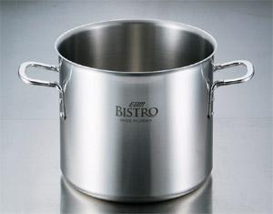 【送料無料】三層クラッド ビストロ寸胴鍋 27cm(蓋なし)