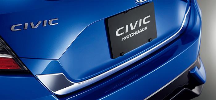 純正自動車部品を販売中 HONDA ホンダ CIVIC シビック テールゲートガーニッシュ クロームメッキ FC1 FK7 宅配便 パーツ 純正 小サイズ 用品 オプション 部品 アクセサリ メイルオーダー 新作送料無料