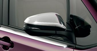 全品最安値に挑戦 純正自動車部品を販売中 TOYOTA トヨタ Noah ノア 80系メッキドアミラーカバーZRR80 ZWR80 純正 アクセサリ 売却 08409-48140 宅配便 パーツ 用品 小サイズ 部品 オプション