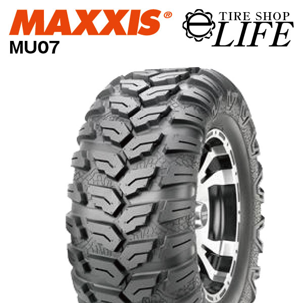 MAXXISはタイヤランキング、台湾では1位、世界では9位!! MAXXIS マキシス MU07 CEROS AT26×9.00R12 6PR ATVタイヤ 26×9R12 26x9R12 バギー フロント用 新品【2018年製】