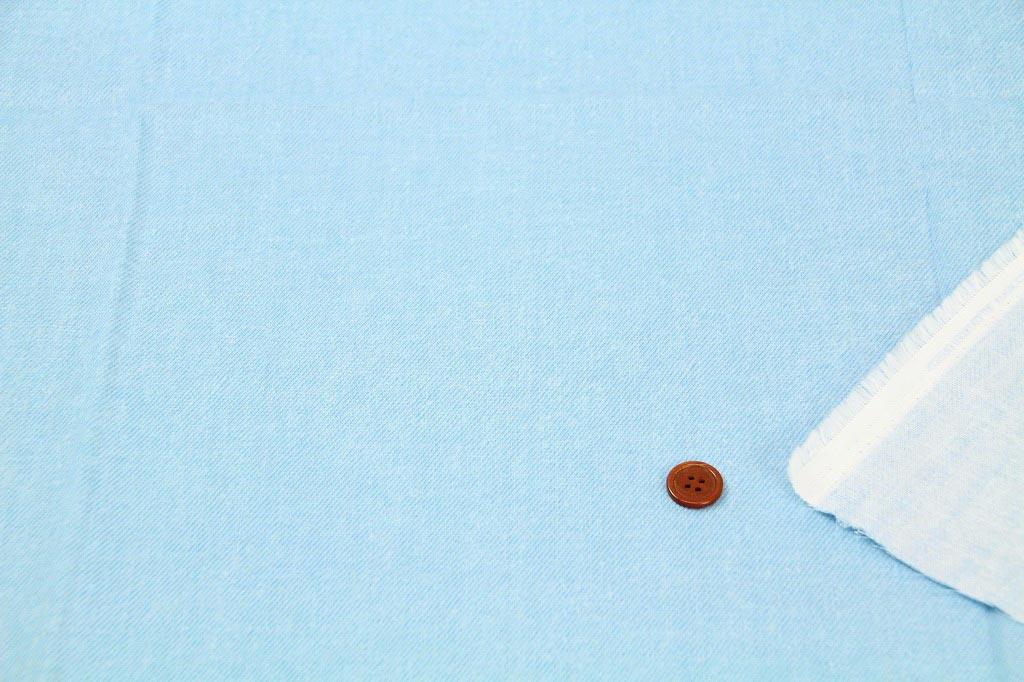 【令和記念につき20%OFF】生地 1m単位 ダブルガーゼ デニム調 無地 AP-25501 布 綿 コスモテキスタイル K-XYT