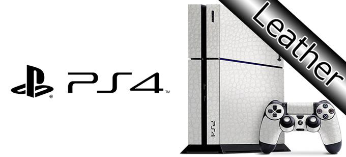 高級感抜群 PS4をスタイリッシュにドレスアップ 剥がしてもベタつかない Sony 割引 PS4 25%OFF プレミアムスキンシール ケースより外観を美しく上品に 10P23Apr16 レザータイプ フランスHexis社製ラッピングフィルム使用 ネコポス送料無料