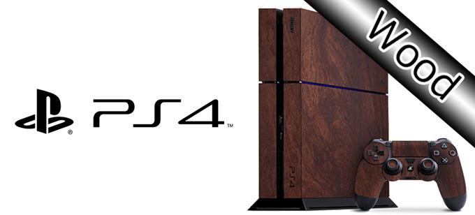 高級感抜群 NEW売り切れる前に☆ PS4をスタイリッシュにドレスアップ 剥がしてもベタつかない Sony PS4 プレミアムスキンシール ケースより外観を美しく上品に 10P23Apr16 ウッドタイプ ネコポス送料無料 売り込み 3M社ダイノックシート使用