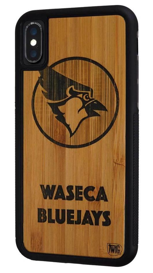 【ネコポス送料無料】【Twig Case】【Waseca Bluejays-Bamboo】iPhone X/XS/XR/XS Max リサイクルウッドケース【Twig Case 日本総代理店】【再生木材】【木製iPhoneケース】