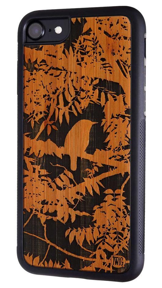 【ネコポス送料無料】【Twig Case】【The Wren-Bamboo】iPhone 7/7Plus 8/8Plus リサイクルウッドケース【Twig Case 日本総代理店】【再生木材】【木製iPhoneケース】