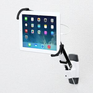 【送料無料】 SANWA SUPPLY(サンワサプライ) 7~11インチ対応iPad・タブレット用アーム(壁面用) CR-LATAB10