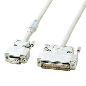 【送料無料】 SANWA SUPPLY(サンワサプライ) RS-232Cケーブル KRS-3110FN