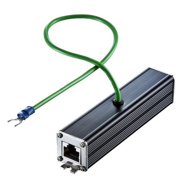【送料無料】 SANWA SUPPLY(サンワサプライ) 雷サージプロテクター(ギガビット対応) ADT-NF5ENケーブル ネットワーク lanパーツ 工具 中継アダプタ 雷サージ プロテクター ギガビット対応 雷サージプロテクター ギガビット対応 機器 守る ギガビットイーサネット対応