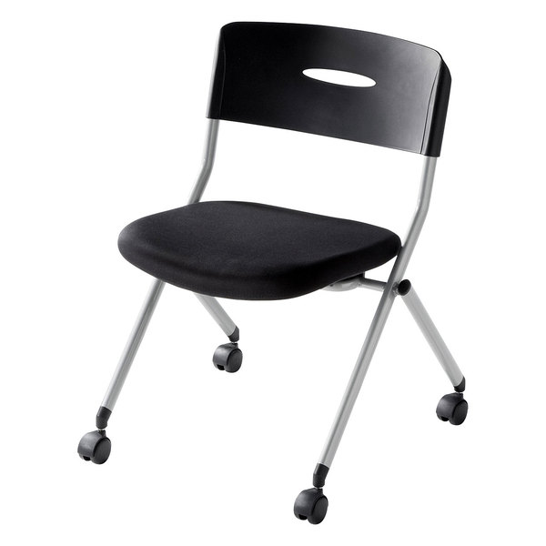 【送料無料】 SANWA SUPPLY(サンワサプライ) ミーティングチェア SNC-ST6BK家具 オフィス チェア 椅子 イス ミーティングチェア チェア 1人 チェア オフィス チェア おしゃれ 椅子 オフィス オフィス 椅子 パソコンチェア デスクチェア オフィスチェア キャスター付き