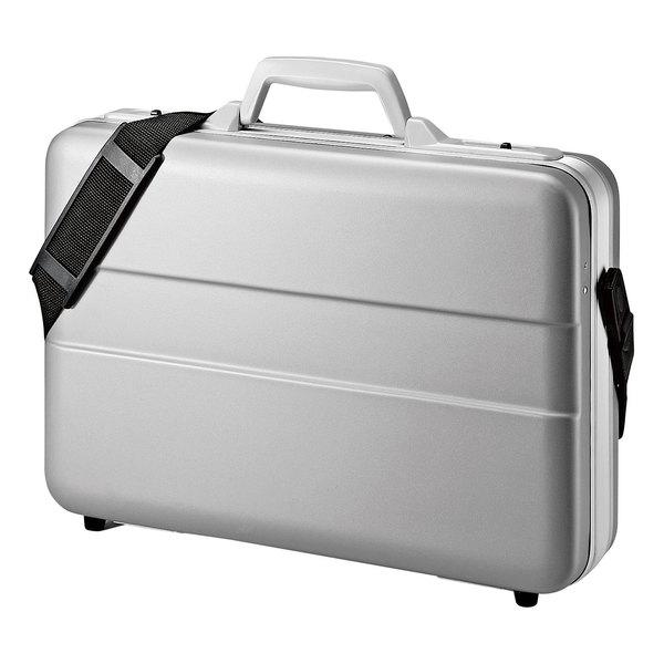 【送料無料】 SANWA SUPPLY(サンワサプライ) ABSハードPCケース BAG-ABS5N2パソコンバッグ パソコンケース pcケース アタッシュケース BAG-CA9BK2 パソコンケース ABS ハードケース 14インチワイド パソコン バッグ ショルダーベルト ケース 移動 修理 頑丈
