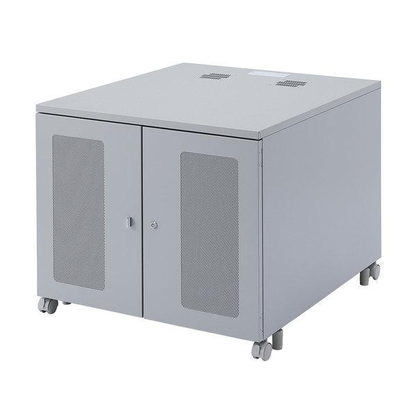 【送料無料】 SANWA SUPPLY(サンワサプライ) W800機器収納ボックス(H700) CP-302タワー型 サーバー 3台 収納 保管 管理 安全 セキュリティ 収納ボックス セキュリティボックス 保管庫 事務所 オフィス 据え置き 頑丈 収納庫 便利