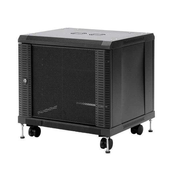 【送料無料】 SANWA SUPPLY(サンワサプライ) 19インチマウントボックス(9U) CP-SVCBOX1小型機器 収納 セキュリティ対策 便利 コンパクト 19インチボックス ハブ HDD バックパネル 鍵 全面メッシュパネル 放熱性 棚板 標準装備 ユニバーサルピッチ ケージナット対応