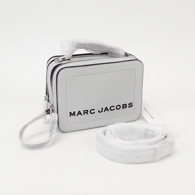 【中古】【辛口評価】【Sランク】MARC JACOBS マークジェイコブス ザ テクスチャード ボックス 20 2WAYバッグ M0014840 079 1SZ グレー