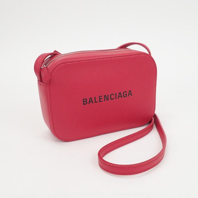 【中古】【辛口評価】【Sランク】BALENCIAGA バレンシアガ エヴリデイ カメラバッグ 552372 レッド
