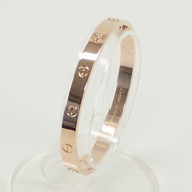 【中古】【辛口評価】【Aランク】Cartier カルティエ K18PG ラブブレス B6035617
