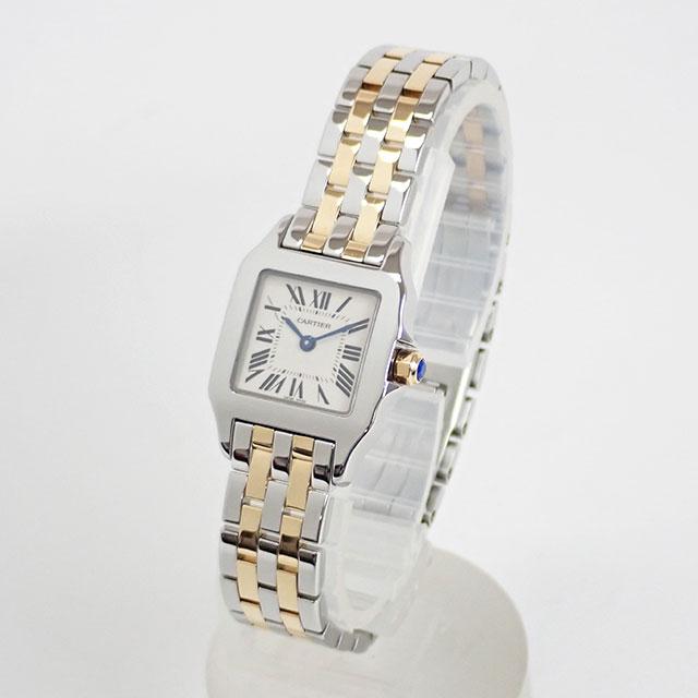 Cartier カルティエ サントスドゥモワゼル SM W25066Z6