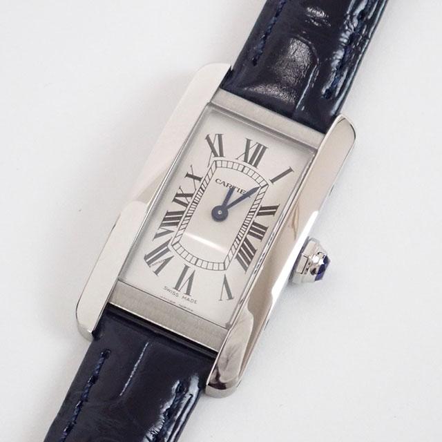 Cartier カルティエ タンクアメリカンウォッチ SM ギャランティー付 国内正規品 WSTA0016