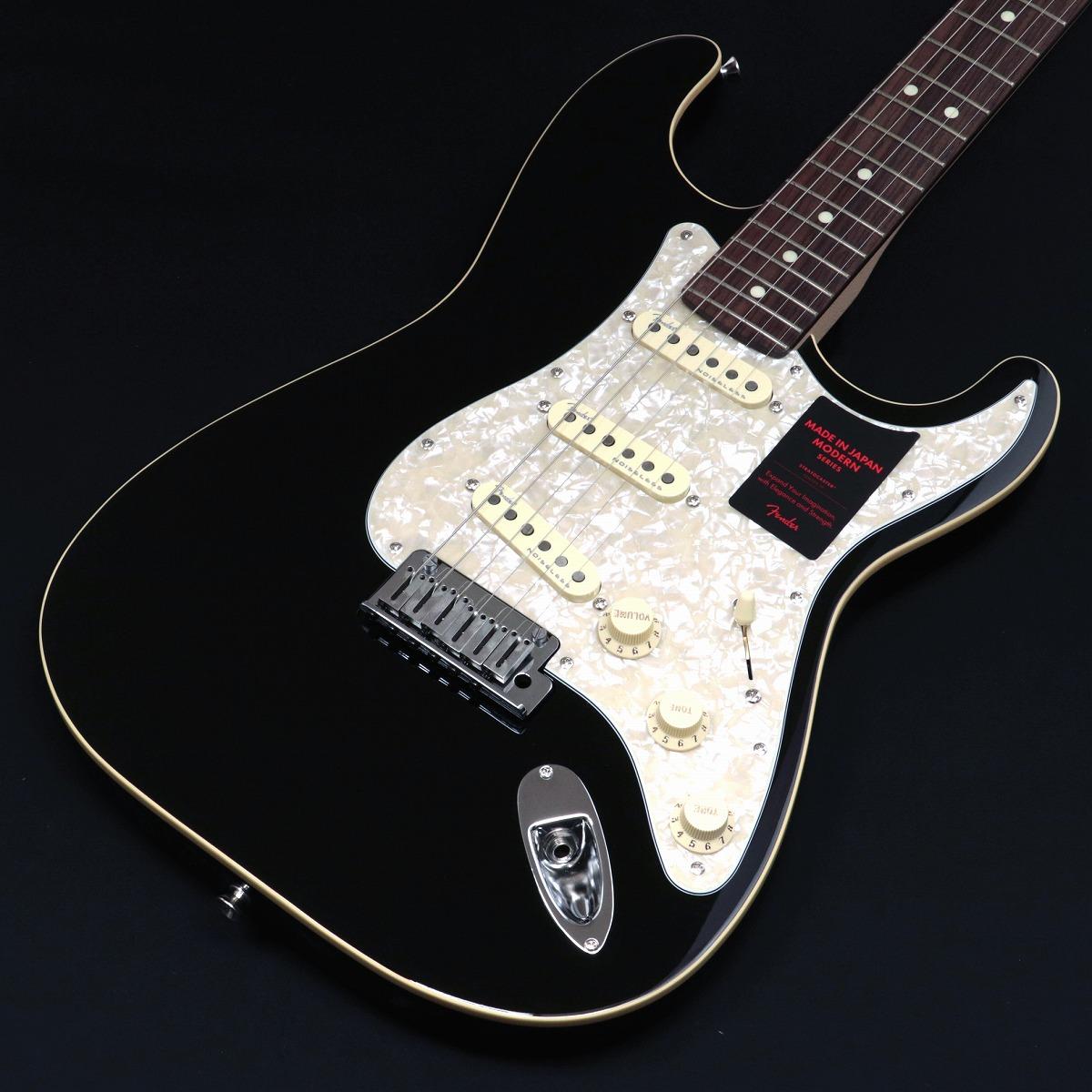 2021最新のスタイル Fender Stratocaster/ in Made in Japan Modern Stratocaster Rosewood Rosewood Fingerboard Black【新品特価】【3.54kg】【S/N:JD20005631】【御茶ノ水ROCKSIDE】, チタグン:57d1f3bd --- briefundpost.de