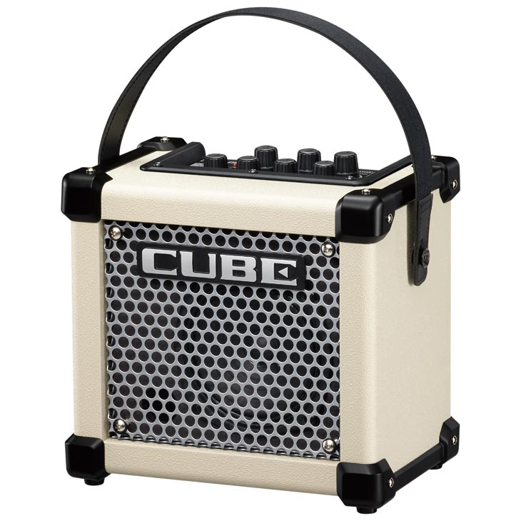 Roland / MICRO CUBE GX WHITE 【ギター用】【エフェクター内蔵】【電池駆動】【福岡パルコ店】