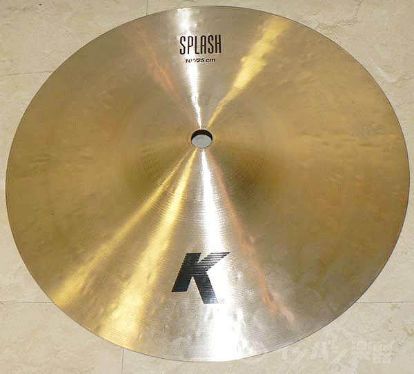 Zildjian / K-10 Splash Paper Thin 【K Zildjian】【10インチ】【スプラッシュ・シンバル】【福岡パルコ店】
