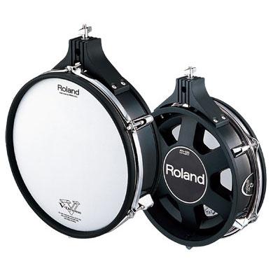 Roland / PD-125BK 【ローランド】【Vドラム】【Vパッド】【スネア・フロアタム等に!】【福岡パルコ店】