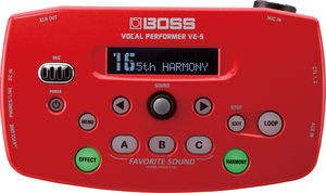 BOSS / VE-5 RED【ボーカルエフェクター】【福岡パルコ店】