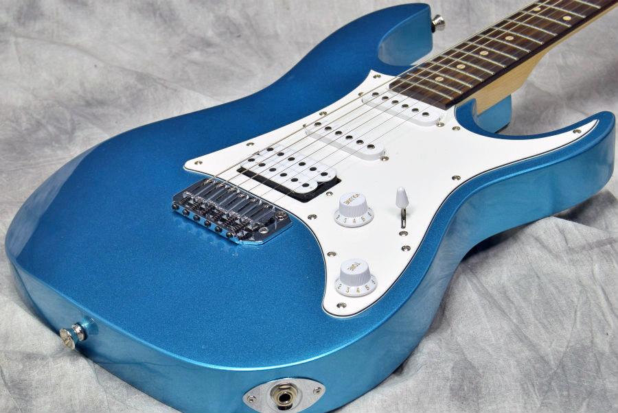 しっかりしたギターで始めたい方に Ibanez GRX40 Metallic 爆売りセール開催中 Light Blue 5☆大好評 福岡パルコ店 MLB