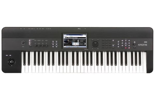 KORG / KROME Music Workstation 61-key 【3.8GBにも及ぶ大容量PCMを搭載!】【福岡パルコ店】