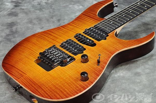 Ibanez / j.custom Series RG7570Z-BBE Bright Brown Rutile 【池袋店】