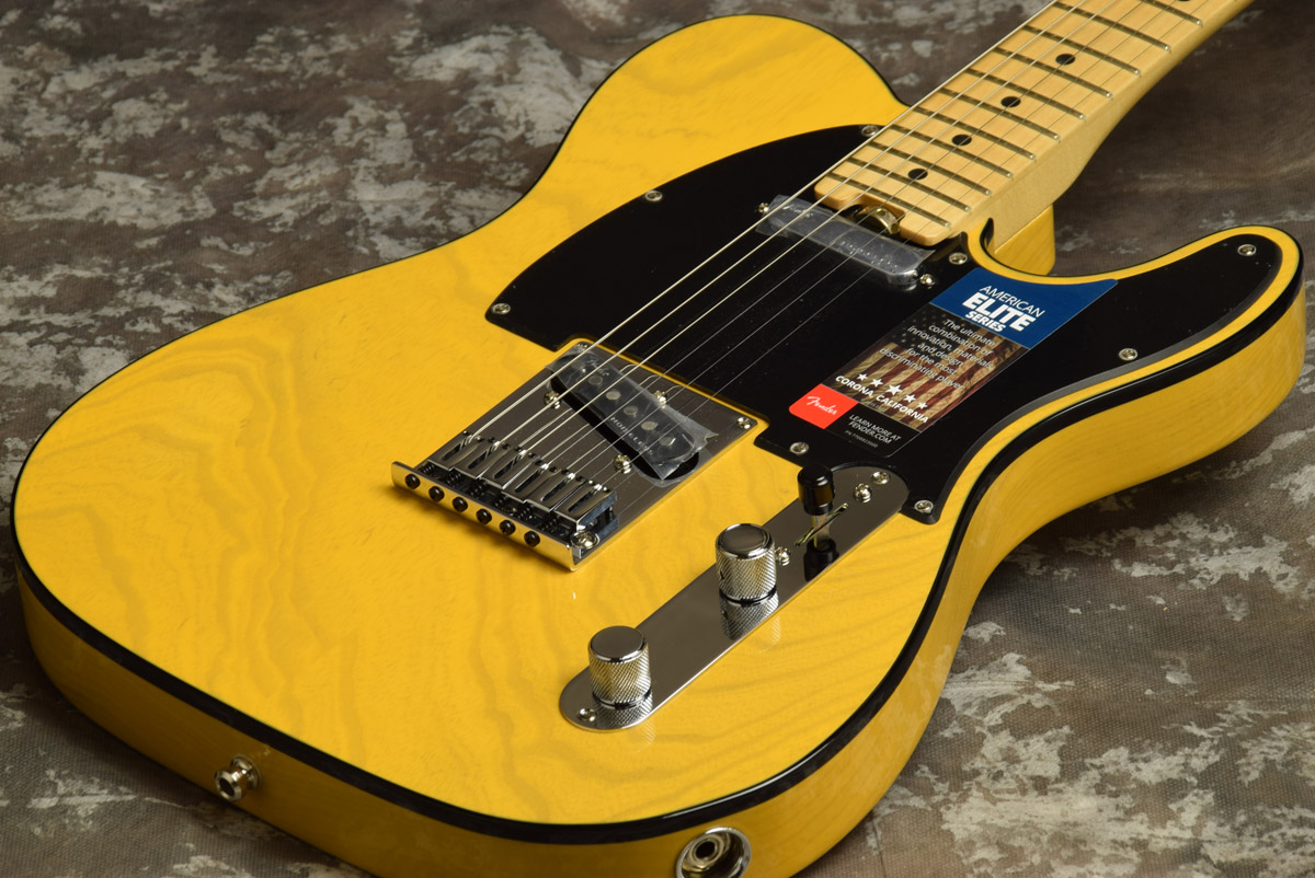 Fender USA / American Elite Telecaster Maple Fingerboard Butterscotch Blonde 【S/N US17086903】【池袋店】