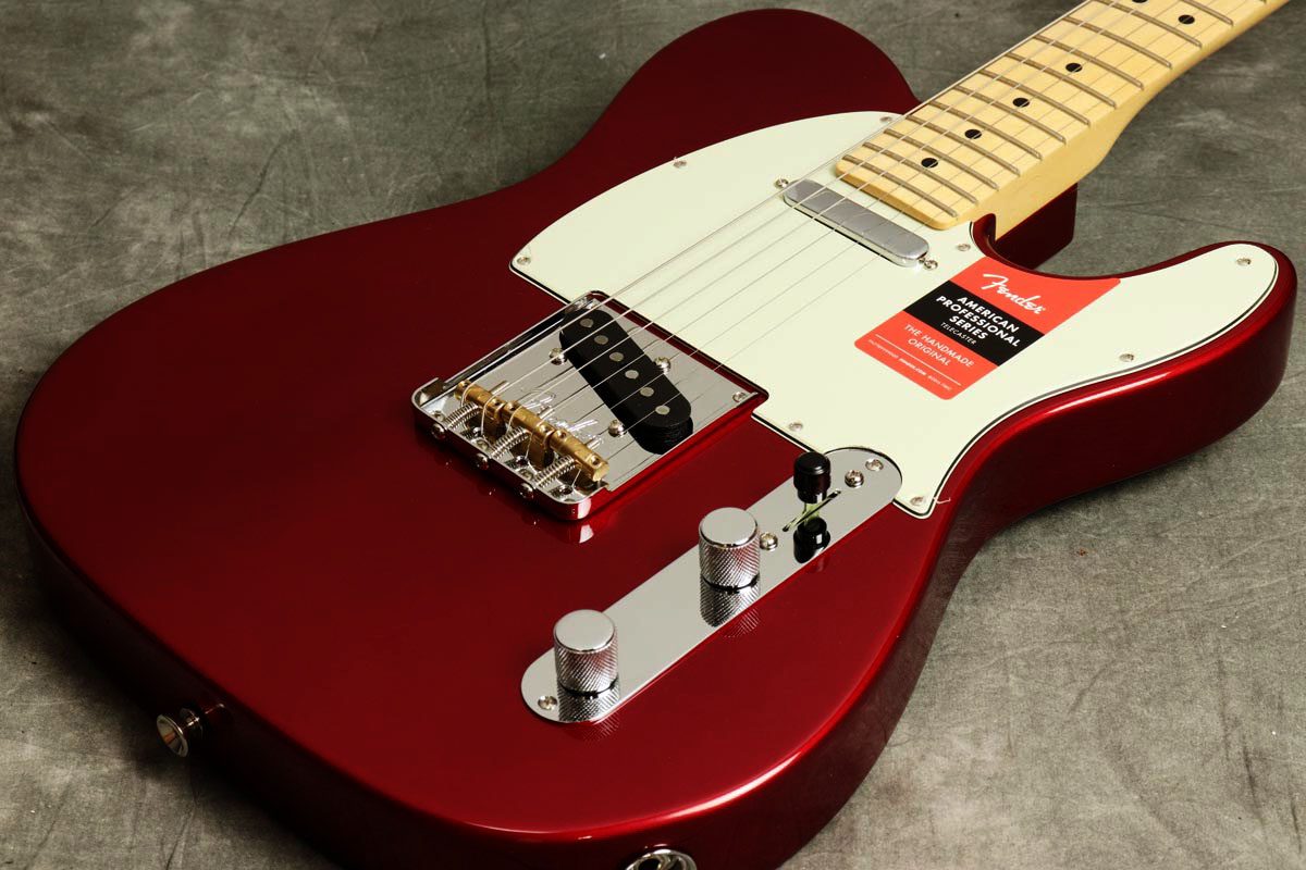 Fender USA / American Pro Telecaster Candy Apple Red Maple 【S/N US17050399】【池袋店】