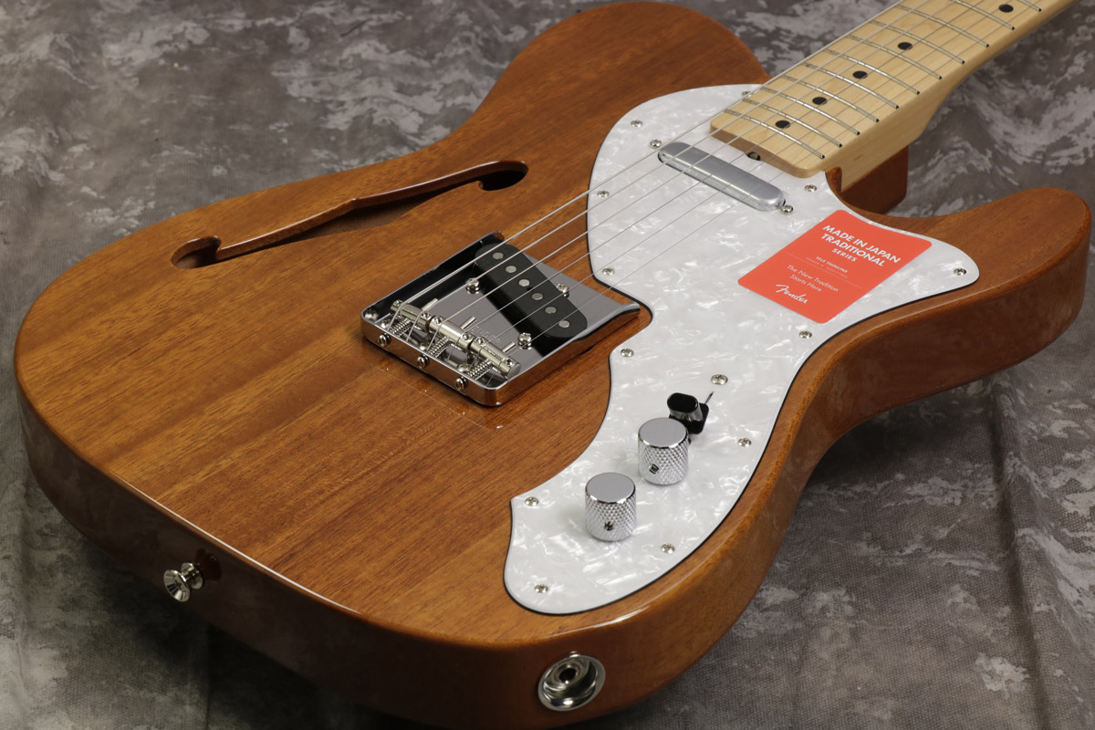 Fender / Made in Japan Traditional '69 Telecaster Thinline Natural 【S/N JD18000480】【池袋店】