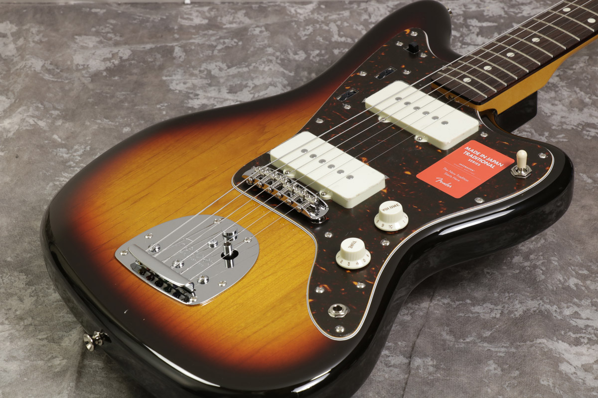 Fender / Made in Japan Traditional 60s Jazzmaster Rosewood Fingerboard 3-Color Sunburst 【S/N JD17043224】【池袋店】