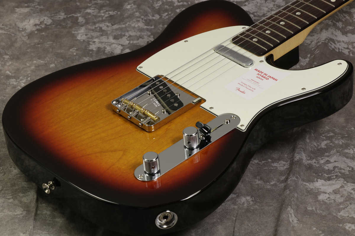 Fender / Made in Japan Hybrid 60s Telecaster 3 Color Sunburst 【S/N JD17040729】【池袋店】