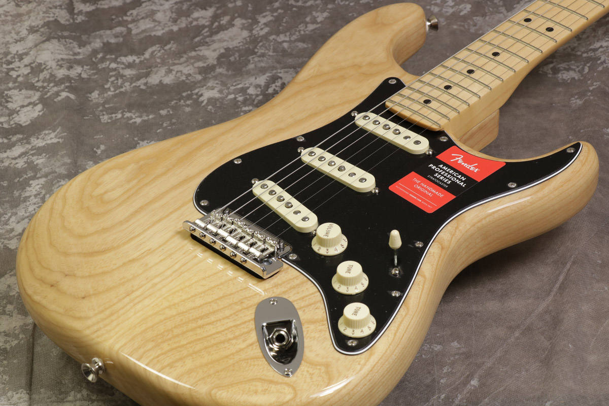 Fender USA / American Pro Stratocaster Ash Natural Maple 【S/N US17066755】【池袋店】