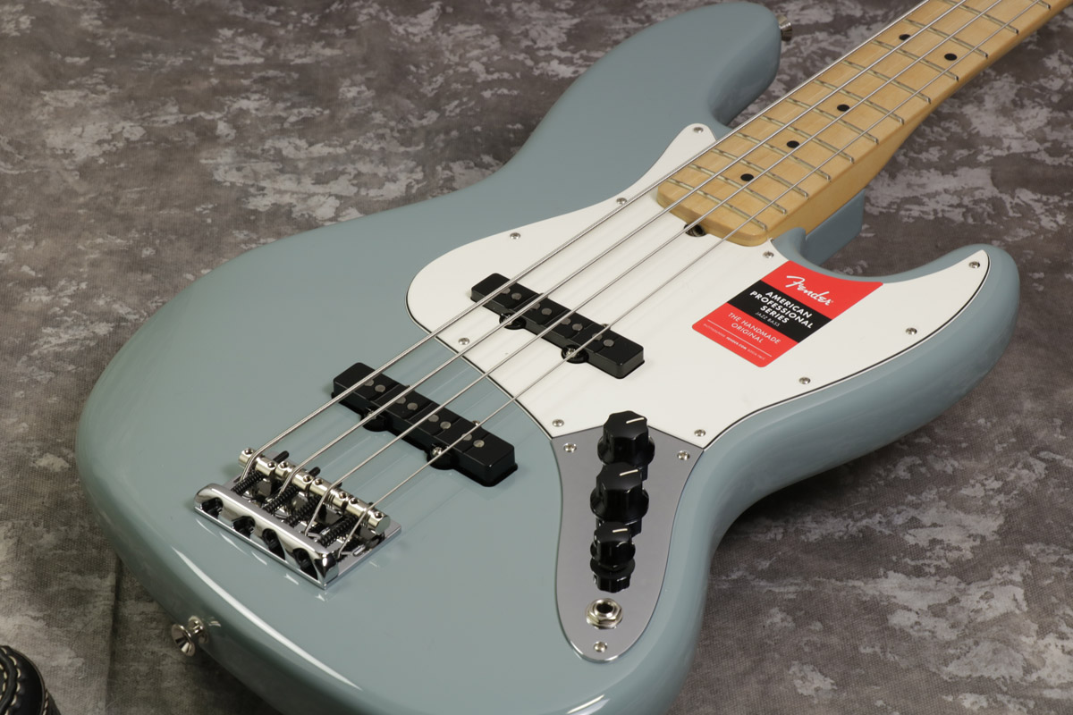 Fender / American Pro Jazz Bass Sonic Grey Maple Fingerboard 【S/N US17103641】【池袋店】