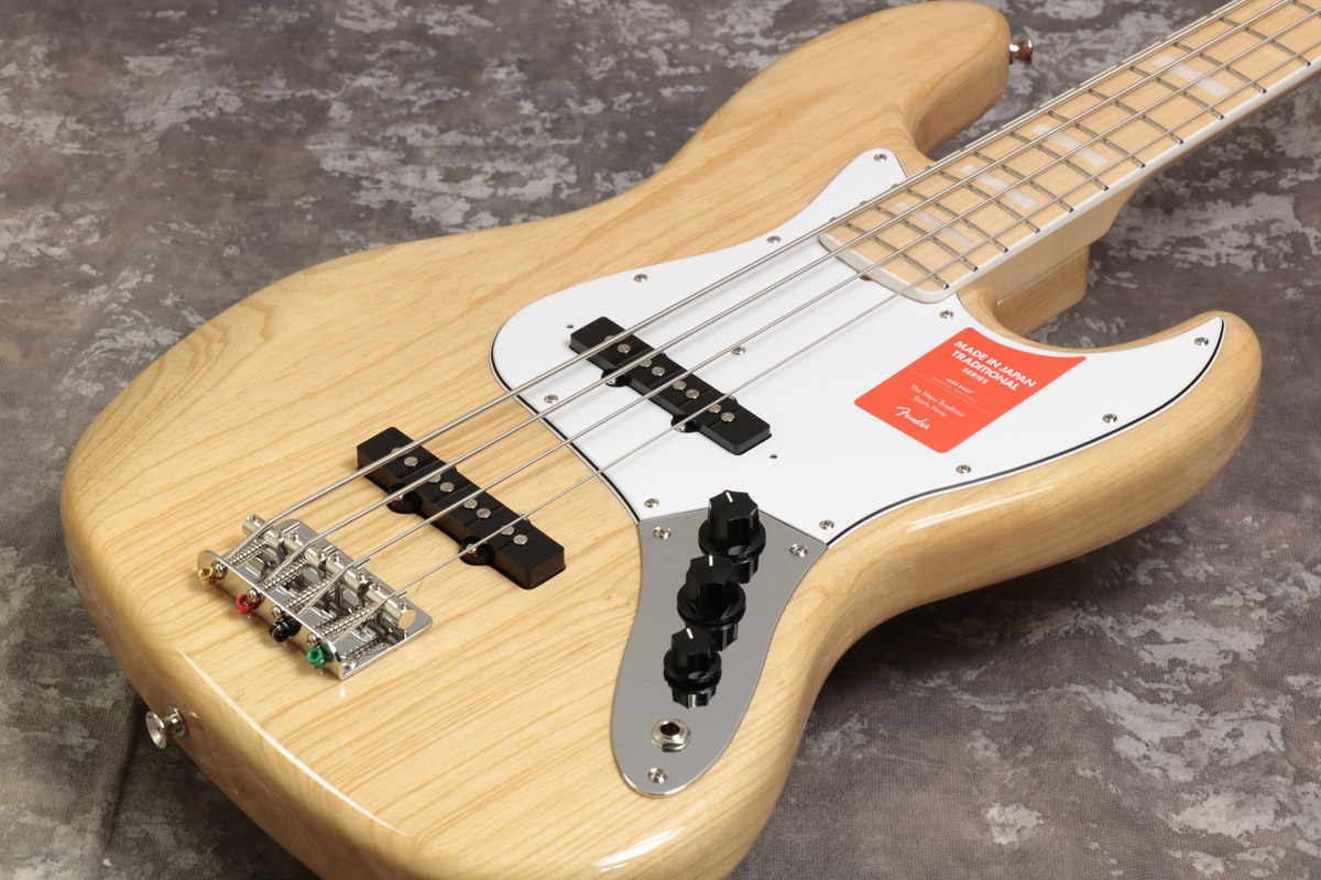 Fender / Made in Japan Traditional 70s Jazz Bass Maple Fingerboard Natural 【S/N:JD18007269】【池袋店】