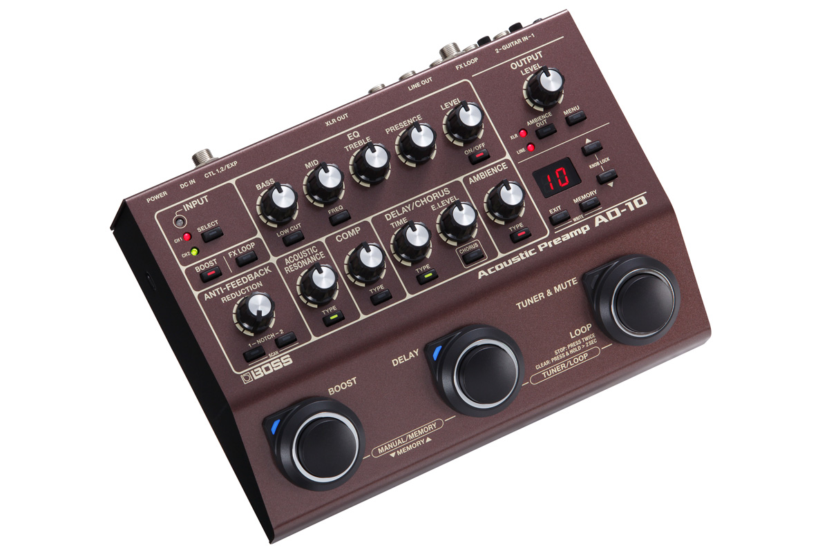 BOSS / AD-10 Acoustic Preamp 【池袋店】