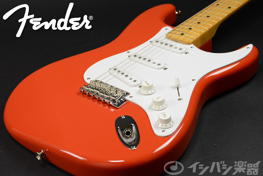 Fender Japan Exclusive Classic 50s Stratocaster Fiesta Red 【S/N JD15002081】【池袋店】